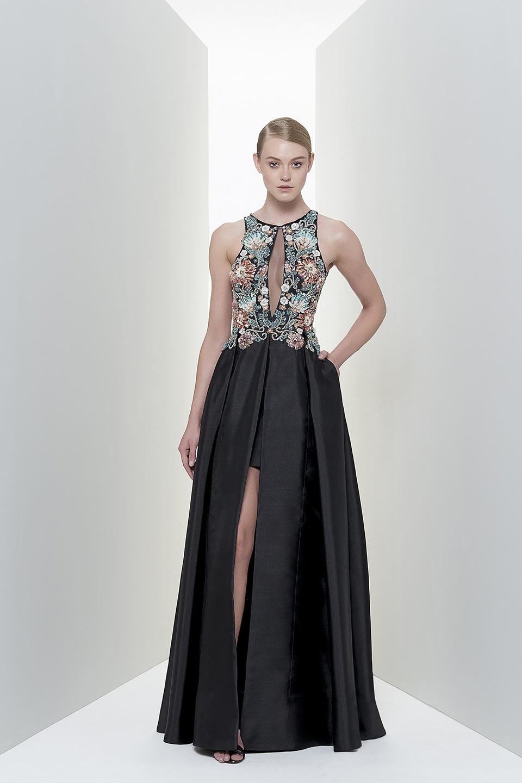 Vestidos de formatura preto