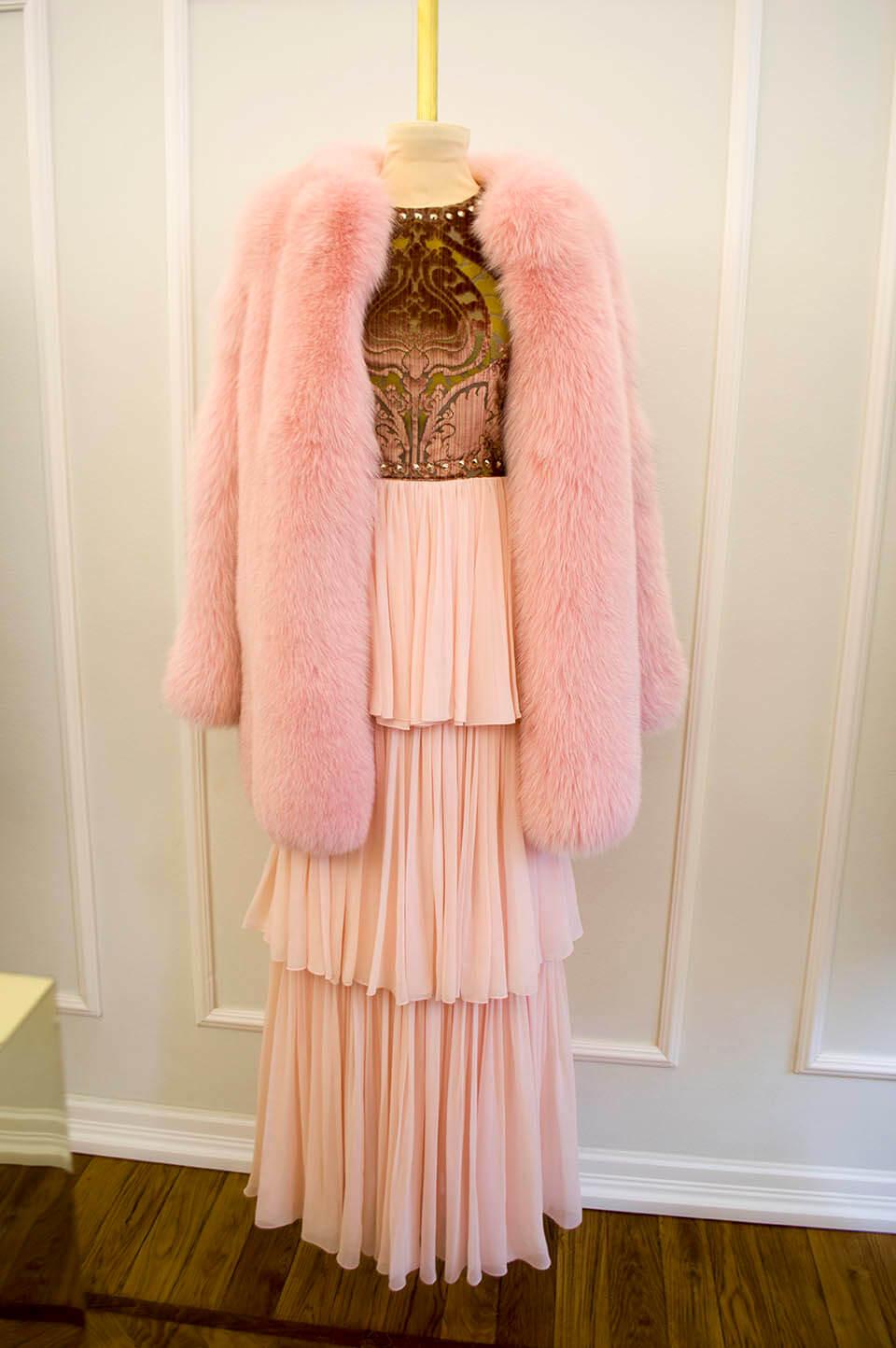 Vladimiro Gioia - pink fur