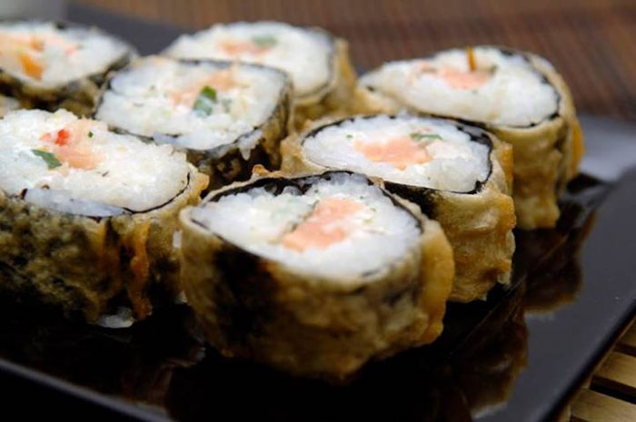 hot philadelphia sushi