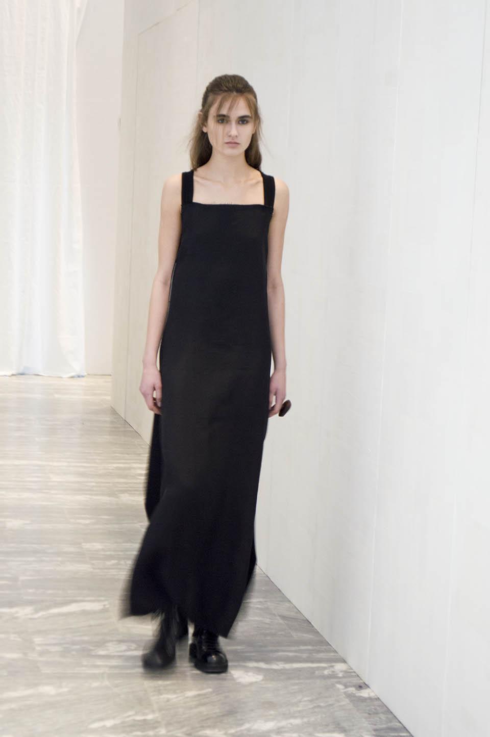 Vestido preto longo - Phaédo MFW