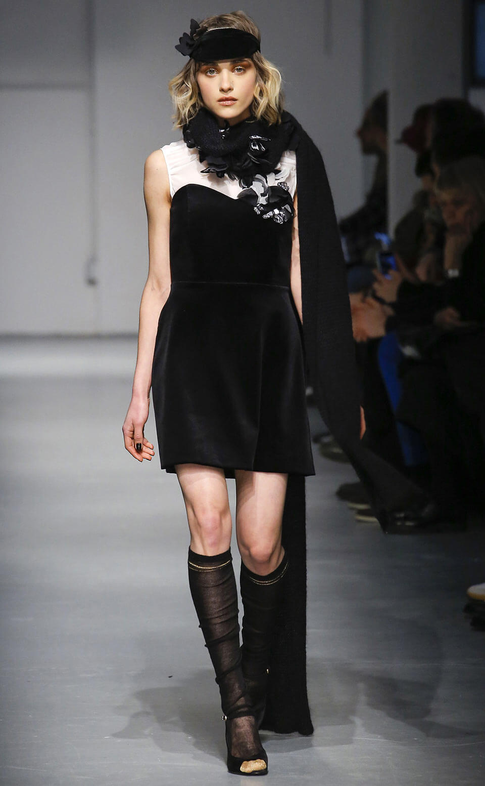 Vestido veludo - Les Copains