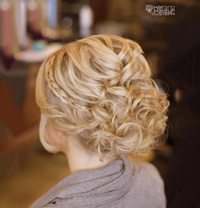 Braided hairstyles for parties