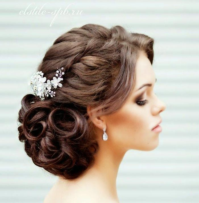 Bride Braided Hairstyle