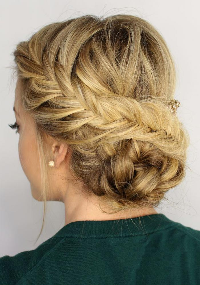 25 Party hairstyles with braids