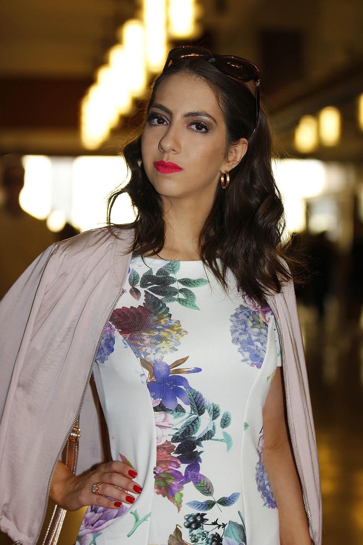 Manu Luize Floral dress