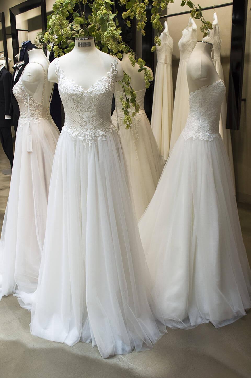 Romantic Wedding dresses MFW 2018