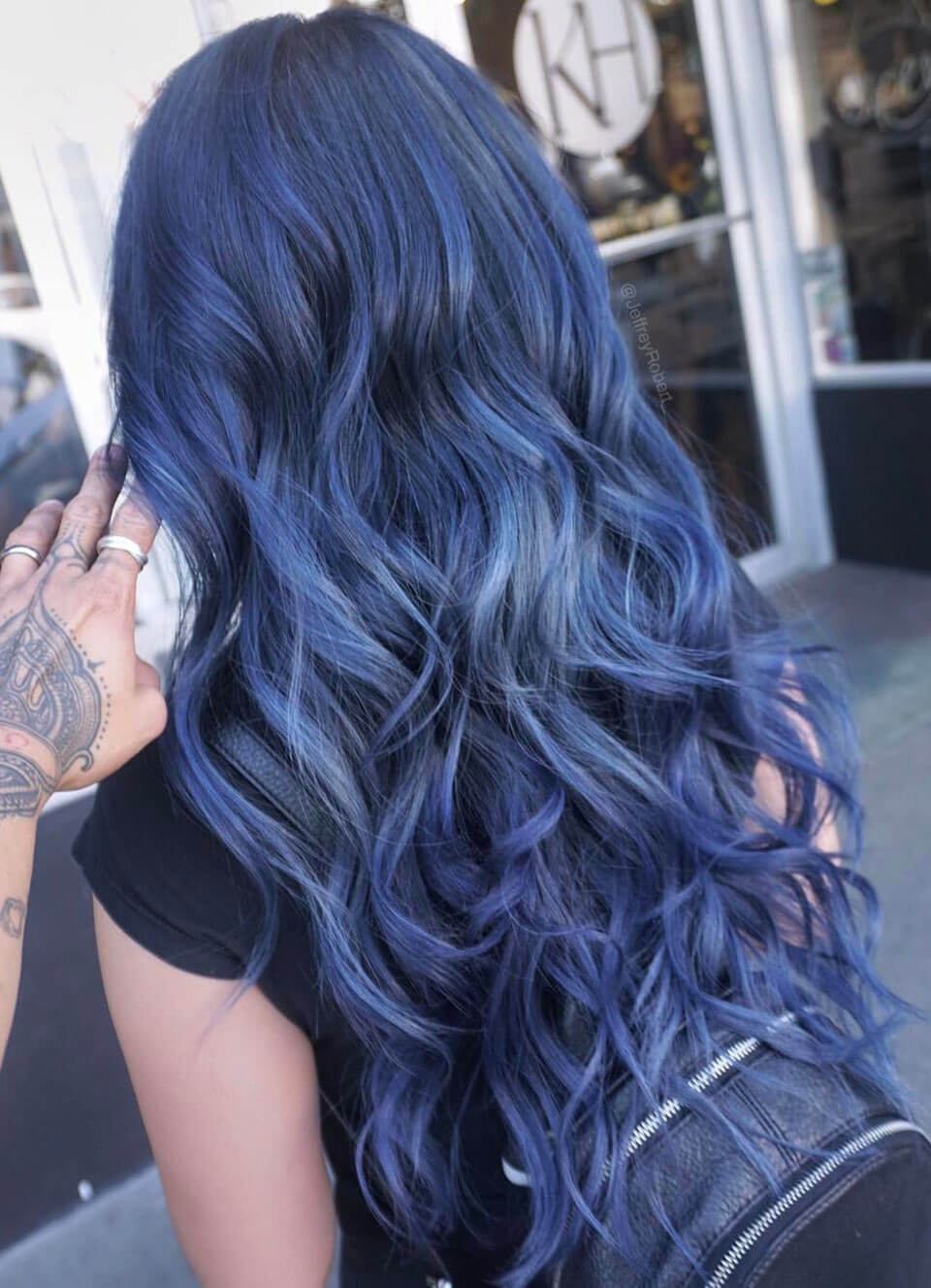 Cabelo azul: cabelos coloridos incríveis
