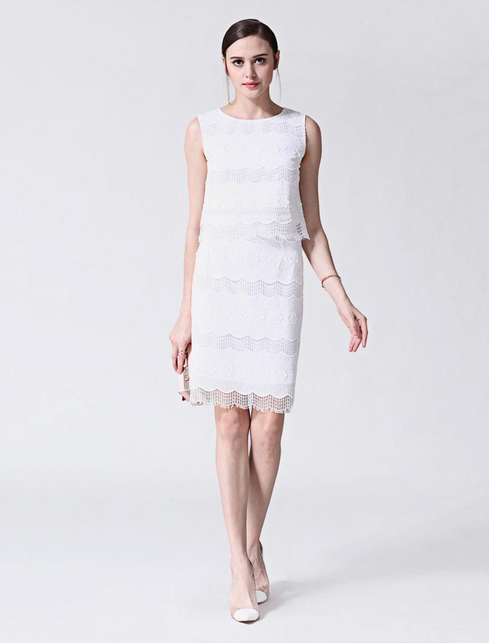 Vestido branco Stylebest