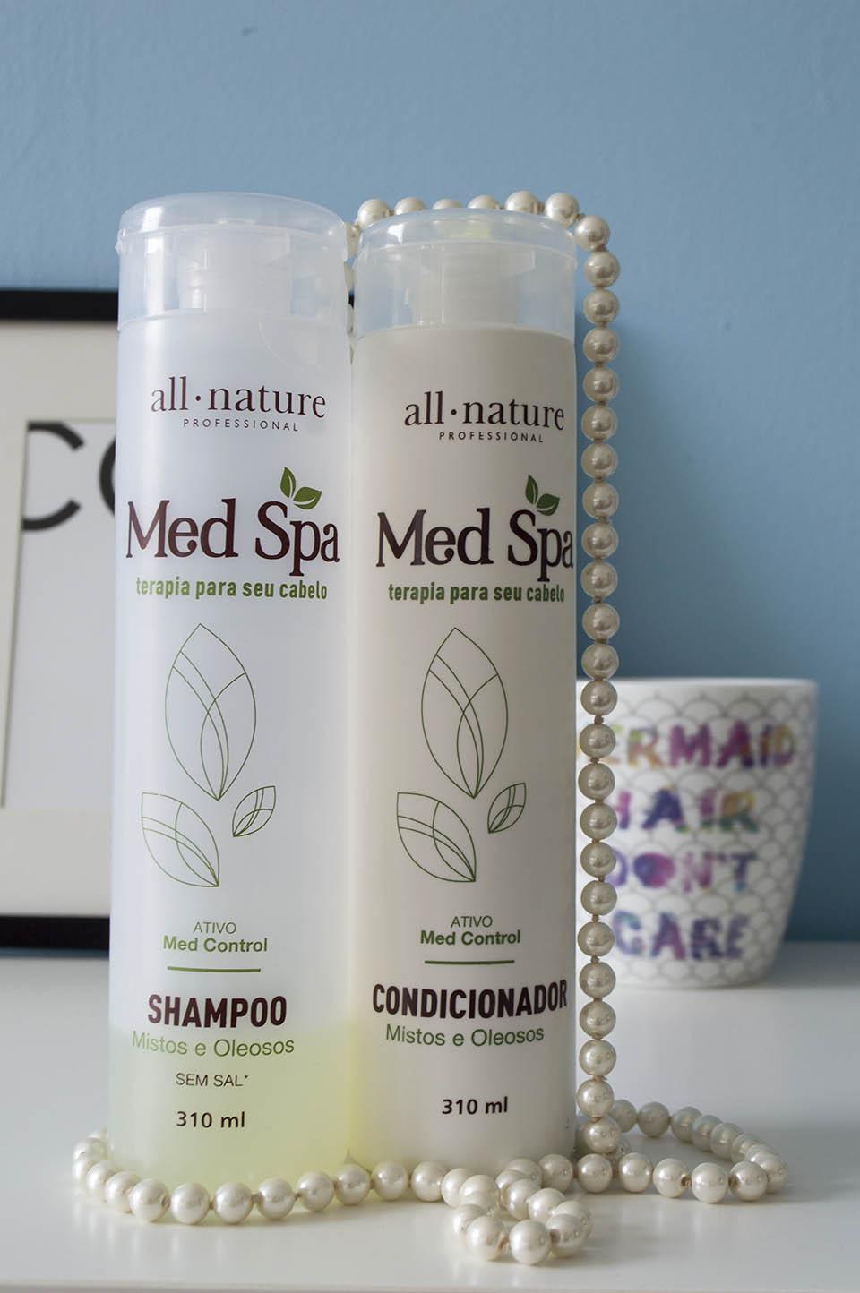 Shampoo para cabelos oleosos da All Nature