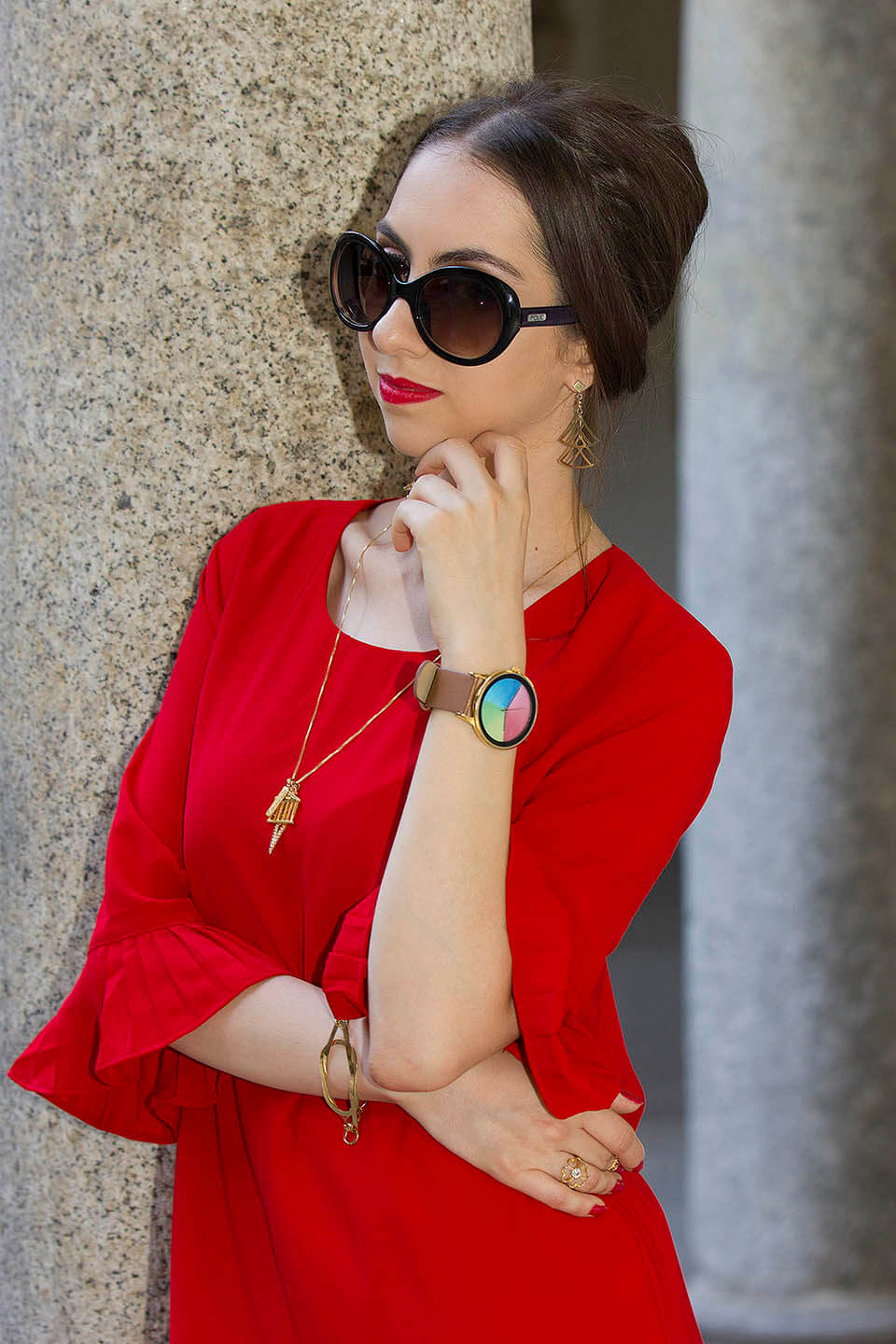 StyleWe Review: red dress