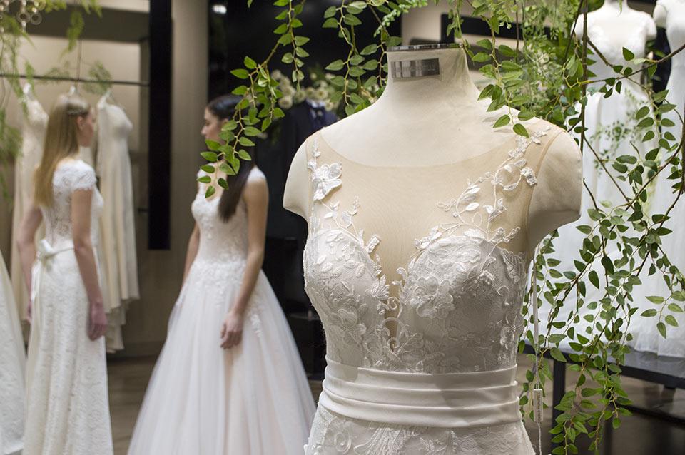 Wedding dress by Carlo Pignatelli