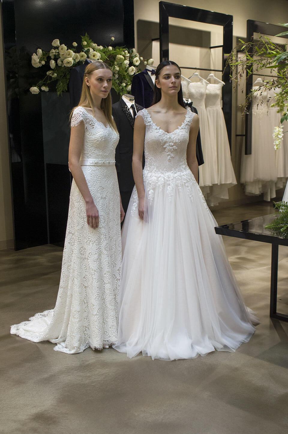Wedding dress at MFW