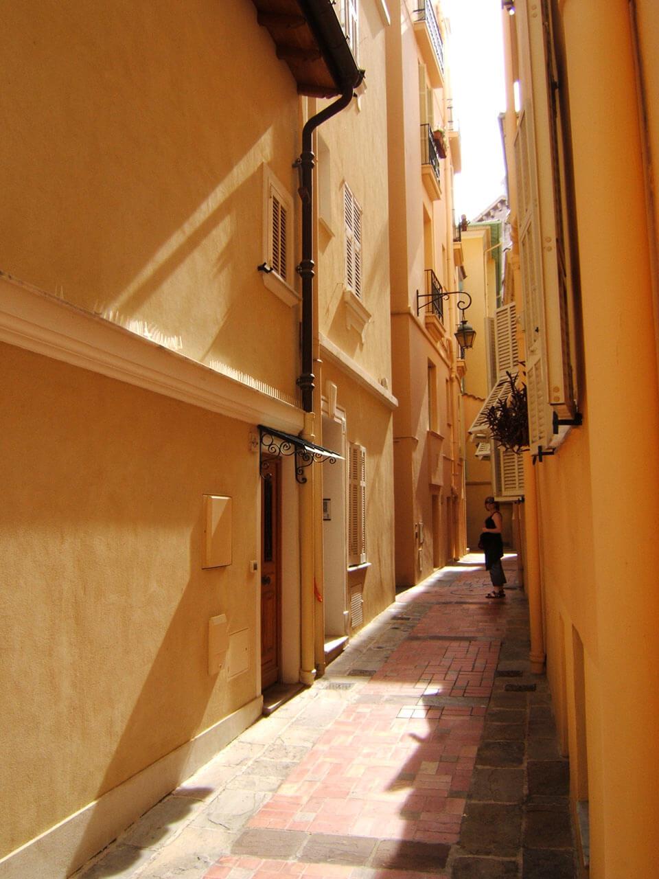 Monaco Ville ruelle