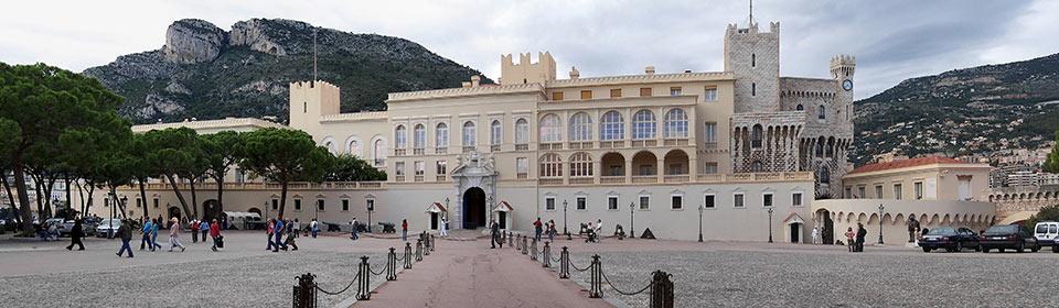 Panorama Palácio de Mônaco