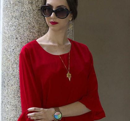 Vestido vermelho: look do dia