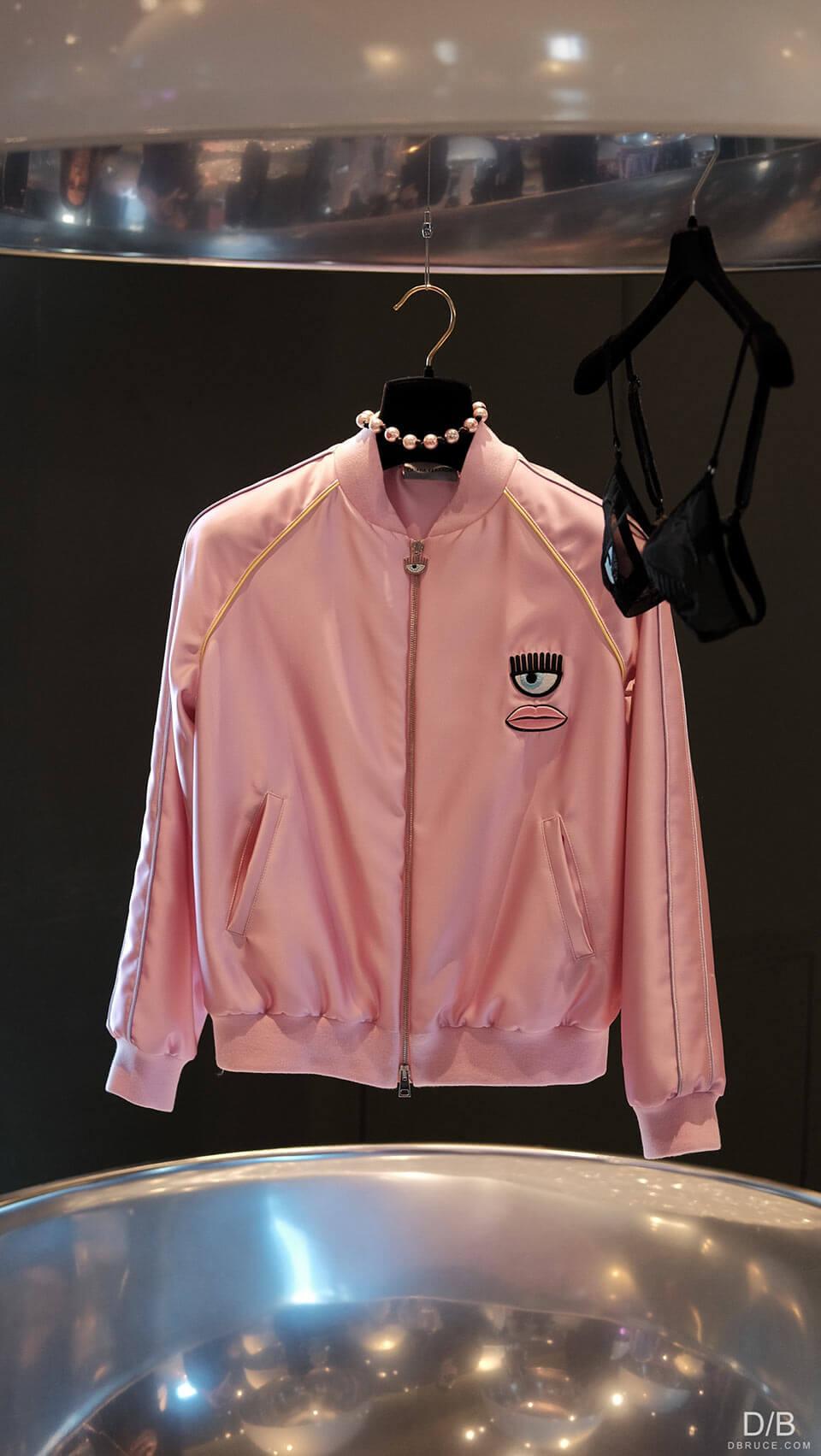 Jaqueta rosa - Inverno Chiara Ferragni