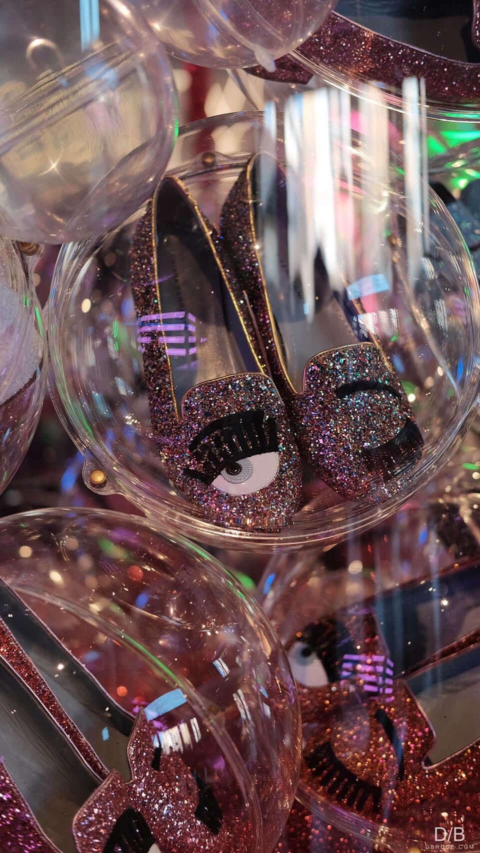 Slipper em glitter Chiara Ferragni