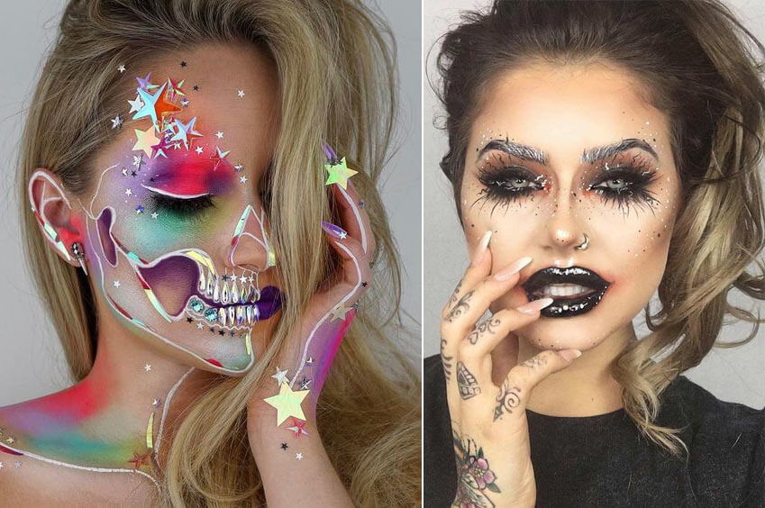 Halloween Makeup - Glamorous looks