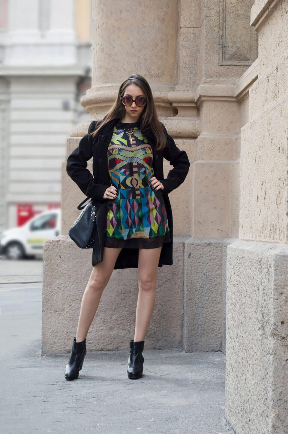 Manu Luize - Print dress