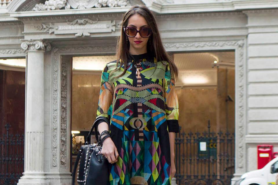 Print Dress Manu Luize