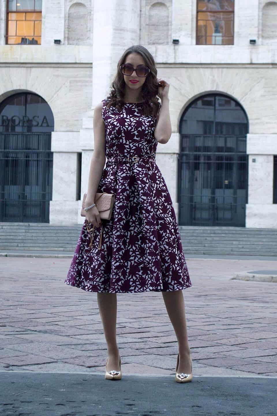 Midi Dress outfit - Manu Luize