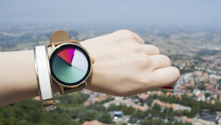 O relógio que muda de cor – Amuda Watch Review