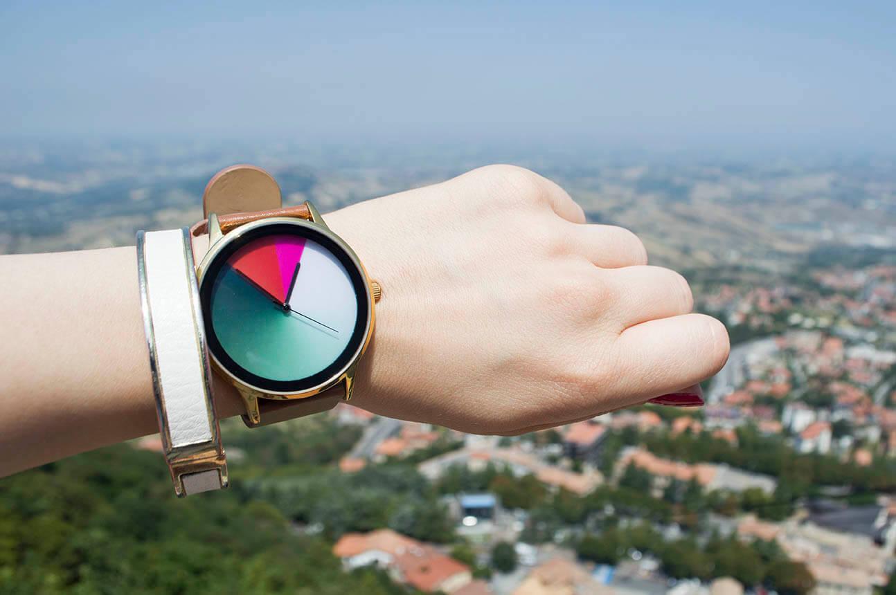 Amuda Watch Review - relógio que muda de cor