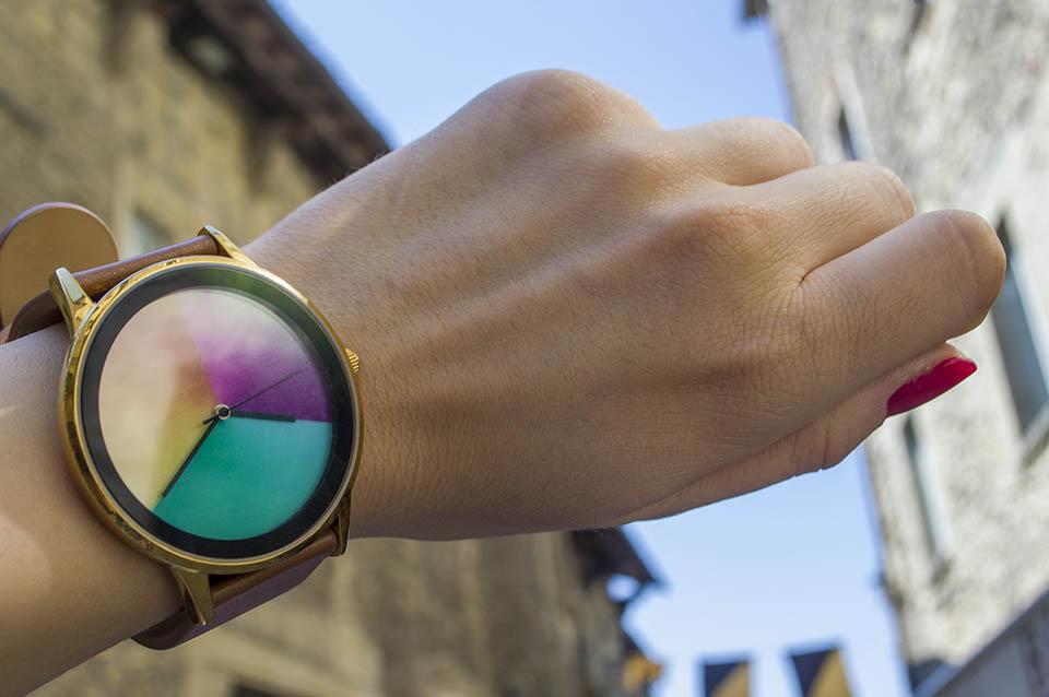 Relógio que muda de cor - Amuda Watch