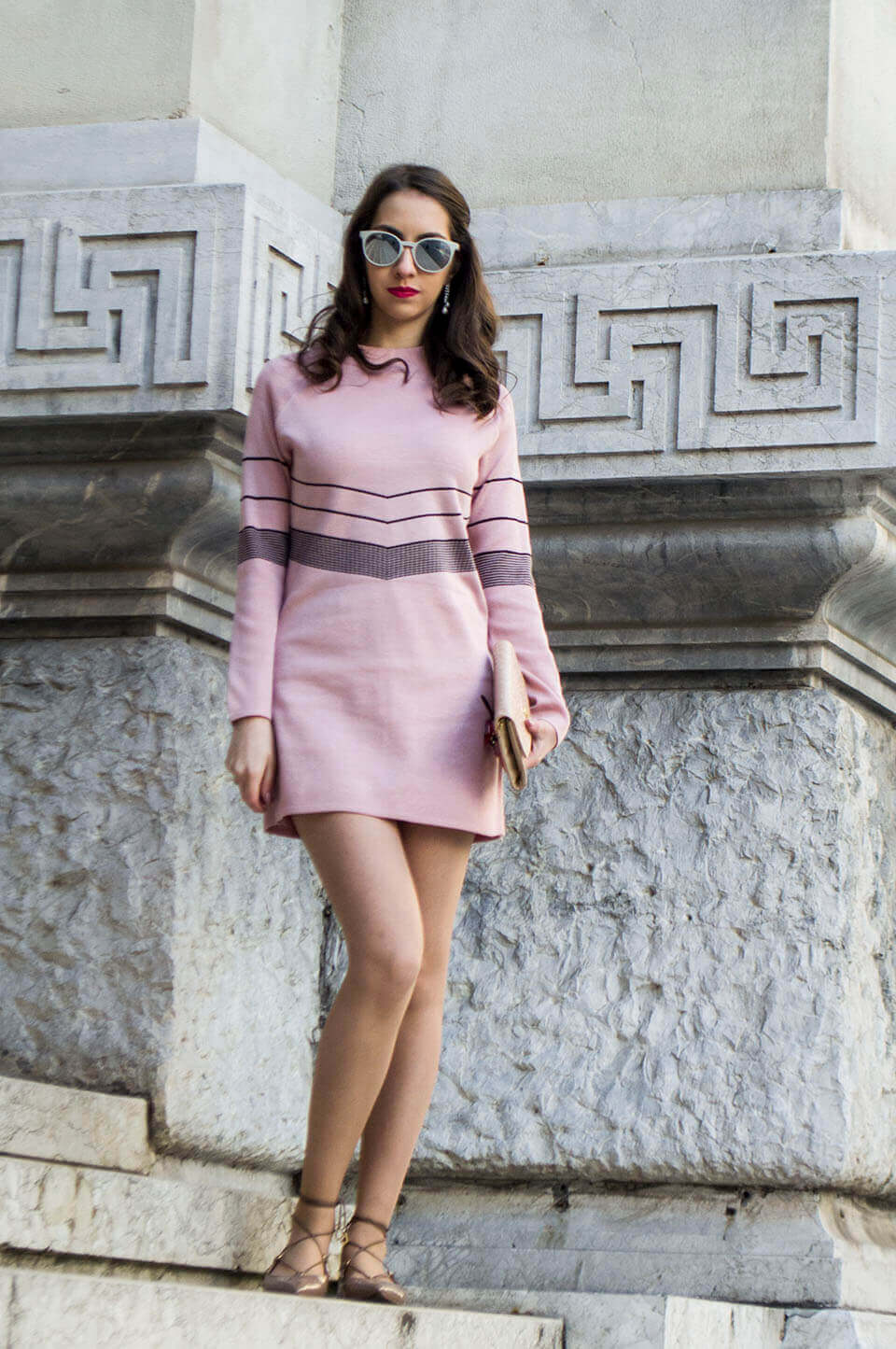 Light pink dress - Manu Luize