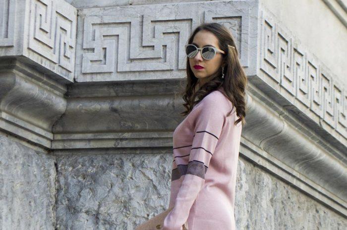 Vestido rosa - Manu Luize