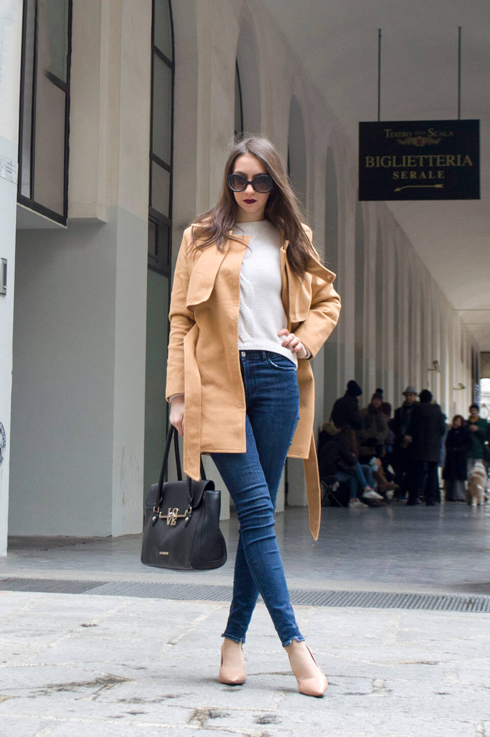 Camel Coat from Popjulia