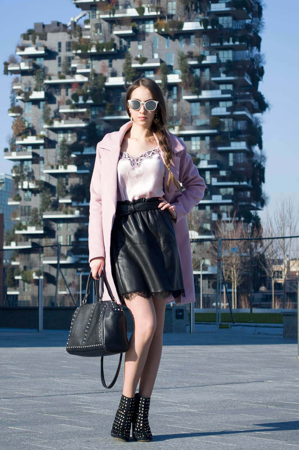 Manu Luize - Pink coat Popjulia