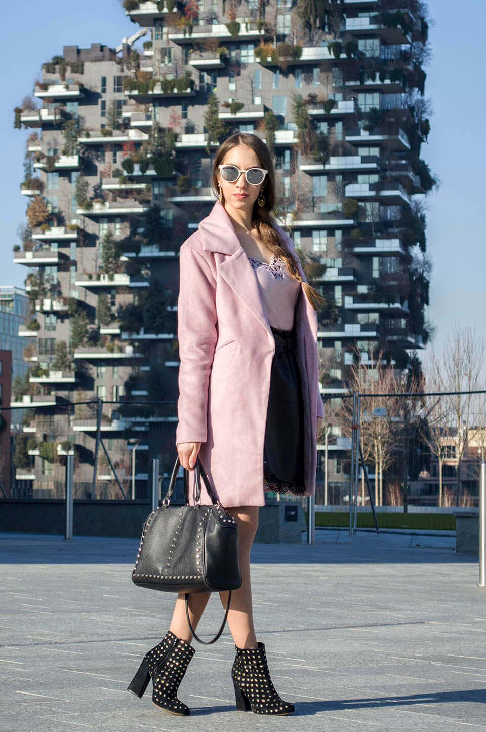 Manu Luize - Powder pink coat