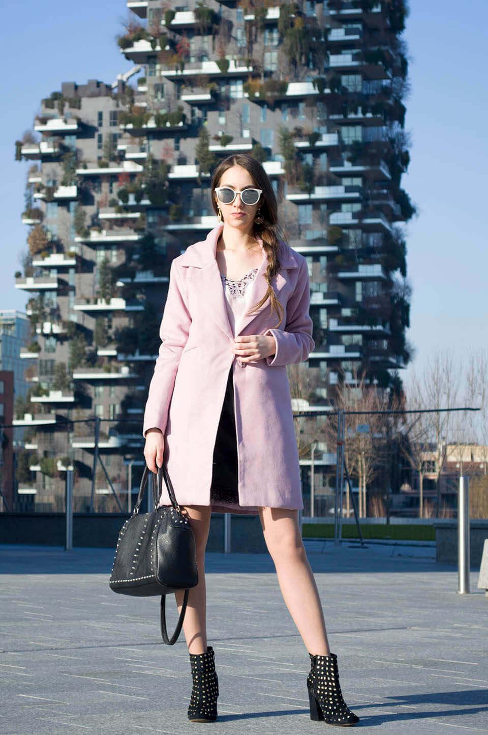 Pink coat outfit - Manu Luize