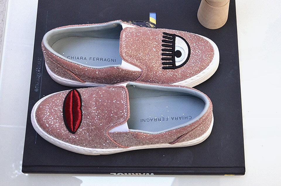 Glitter Shoes Chiara Ferragni Collection