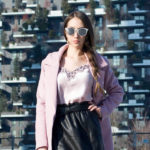 Pink coat outfit (Popjulia Review)