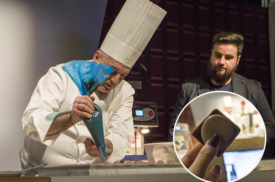 Emanuele Valsecchi cookingshow Milan 2018