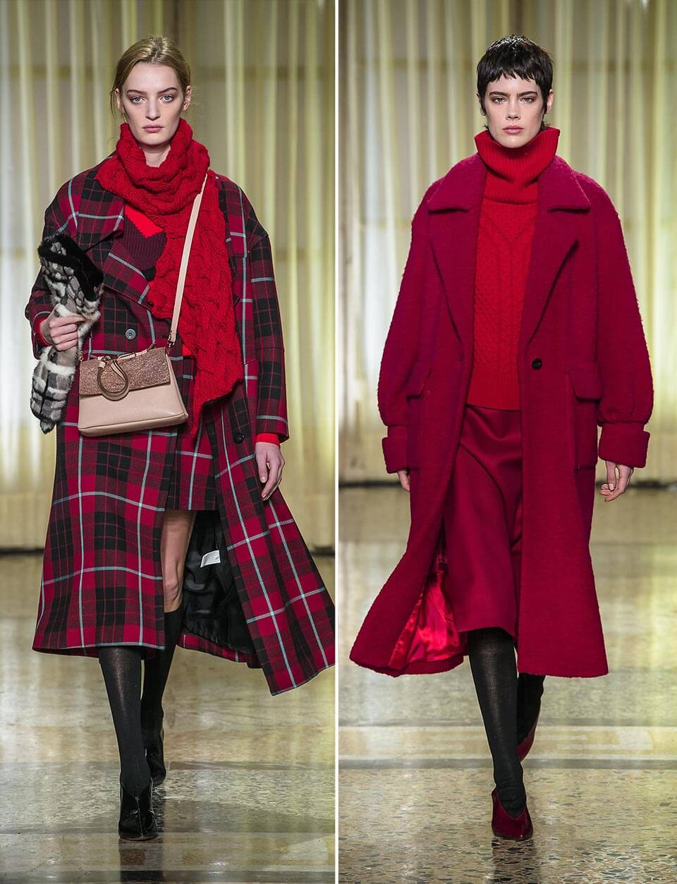 Red outfit Maryling Fall 2019