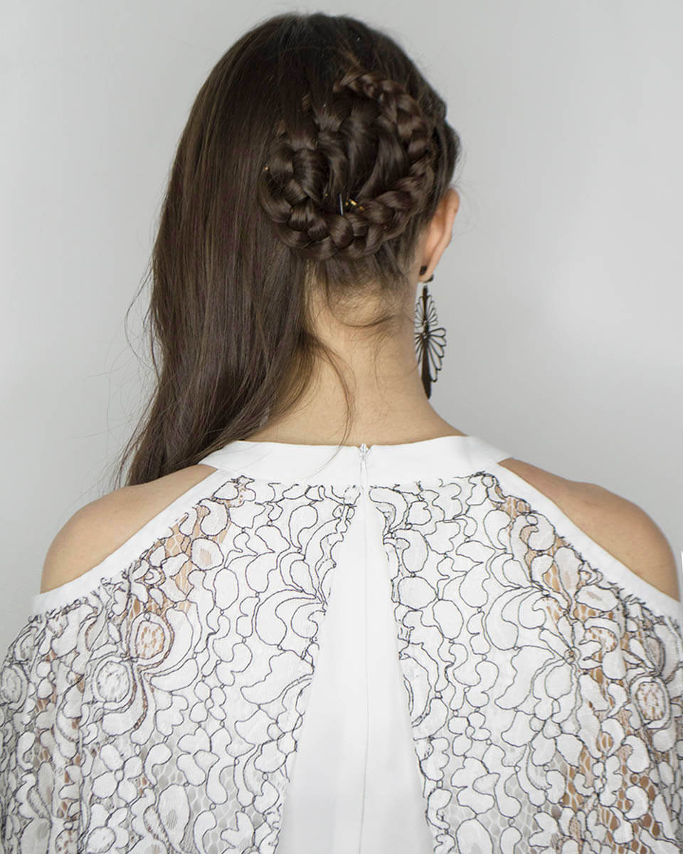 Braid hairstyle - Manu Luize