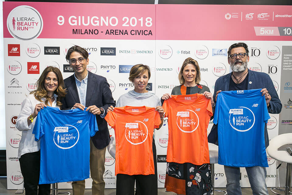 Lierac run in Milano 2018