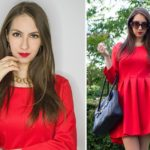 Red dress outfit (StyleWe Review)