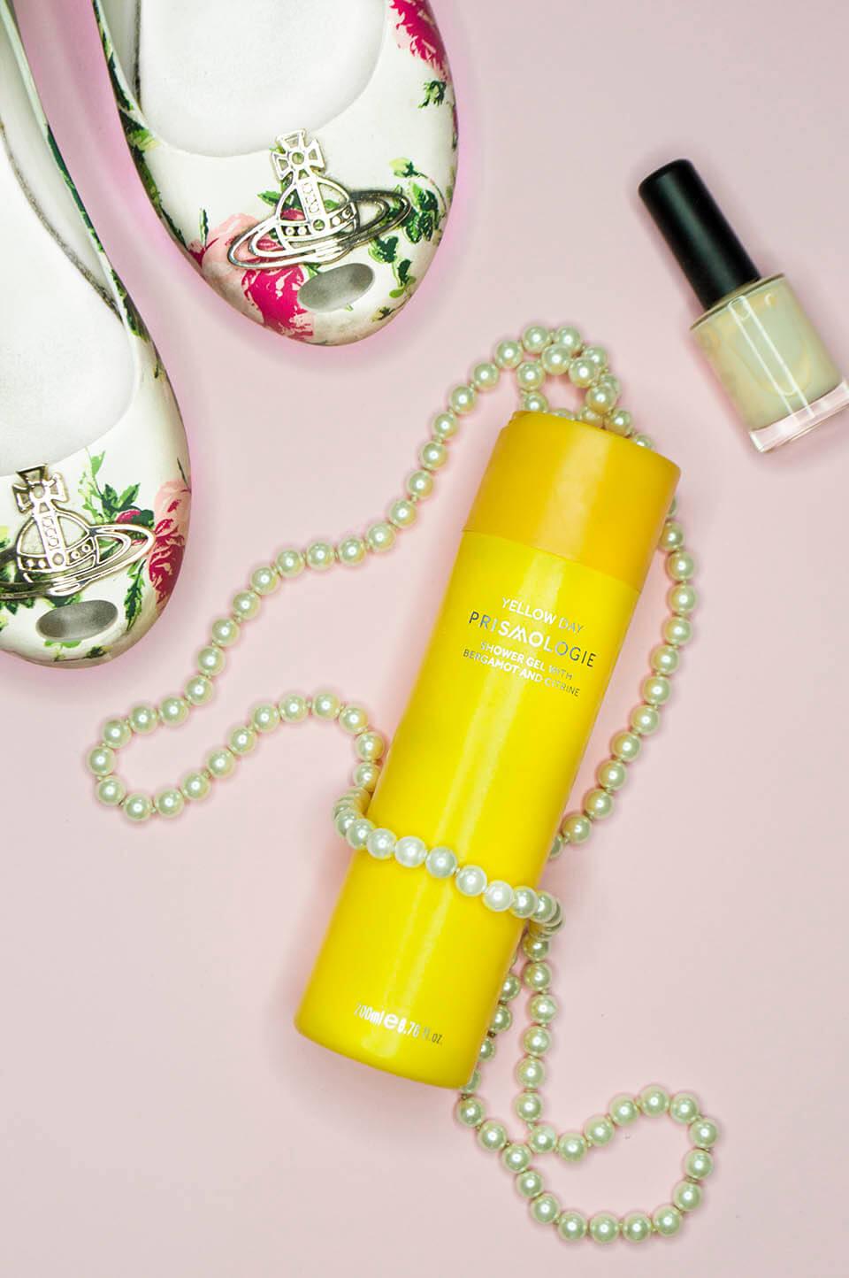 Prismologie Shower Gel: bergamot & citrine