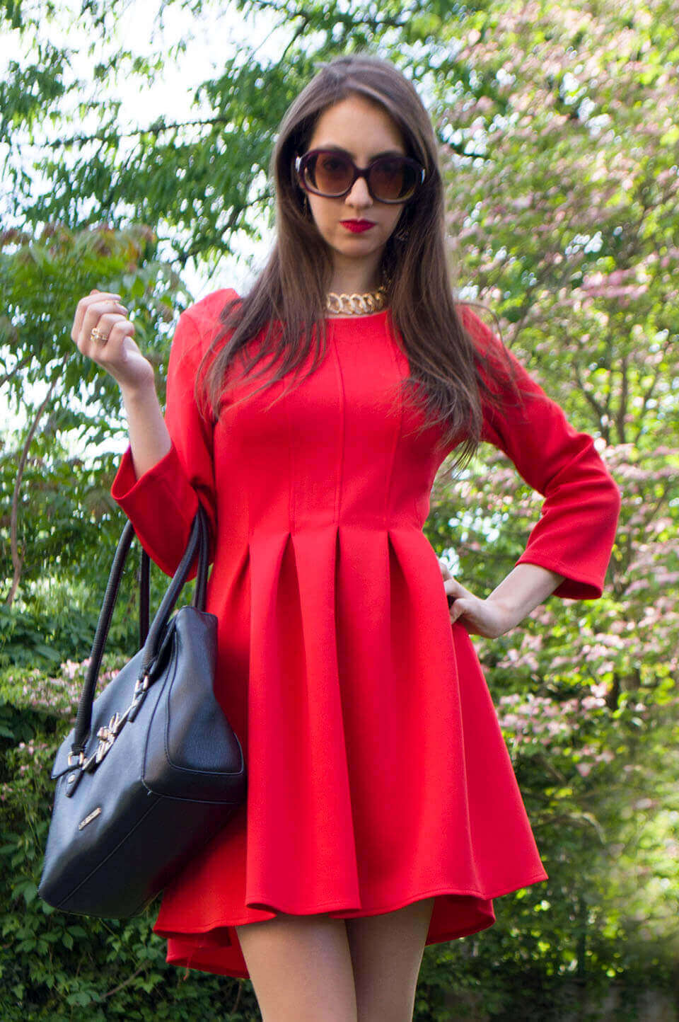 Red dress - Stylewe Review