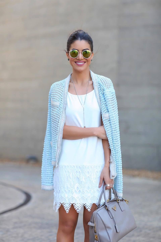 Vestido branco Camila Coelho