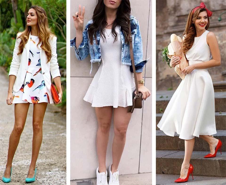 Vestido branco: como usar