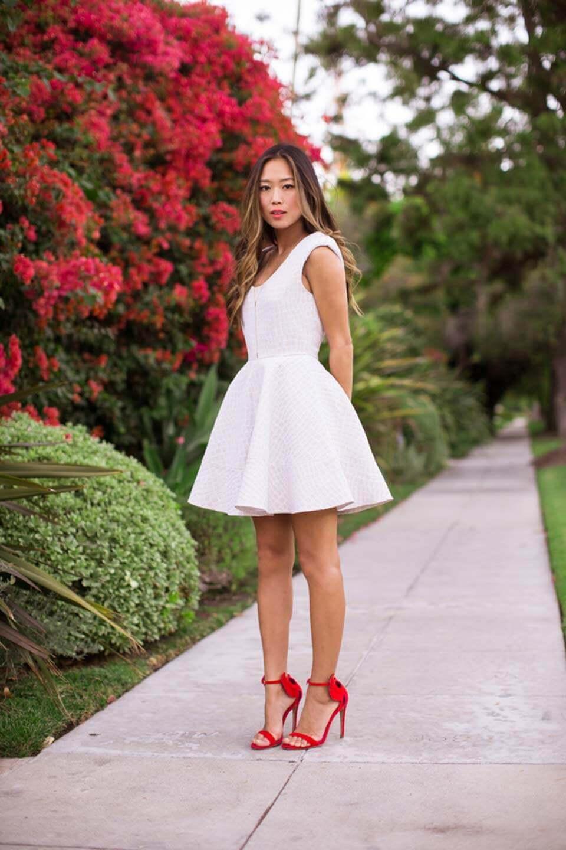 Vestido branco - Song of style
