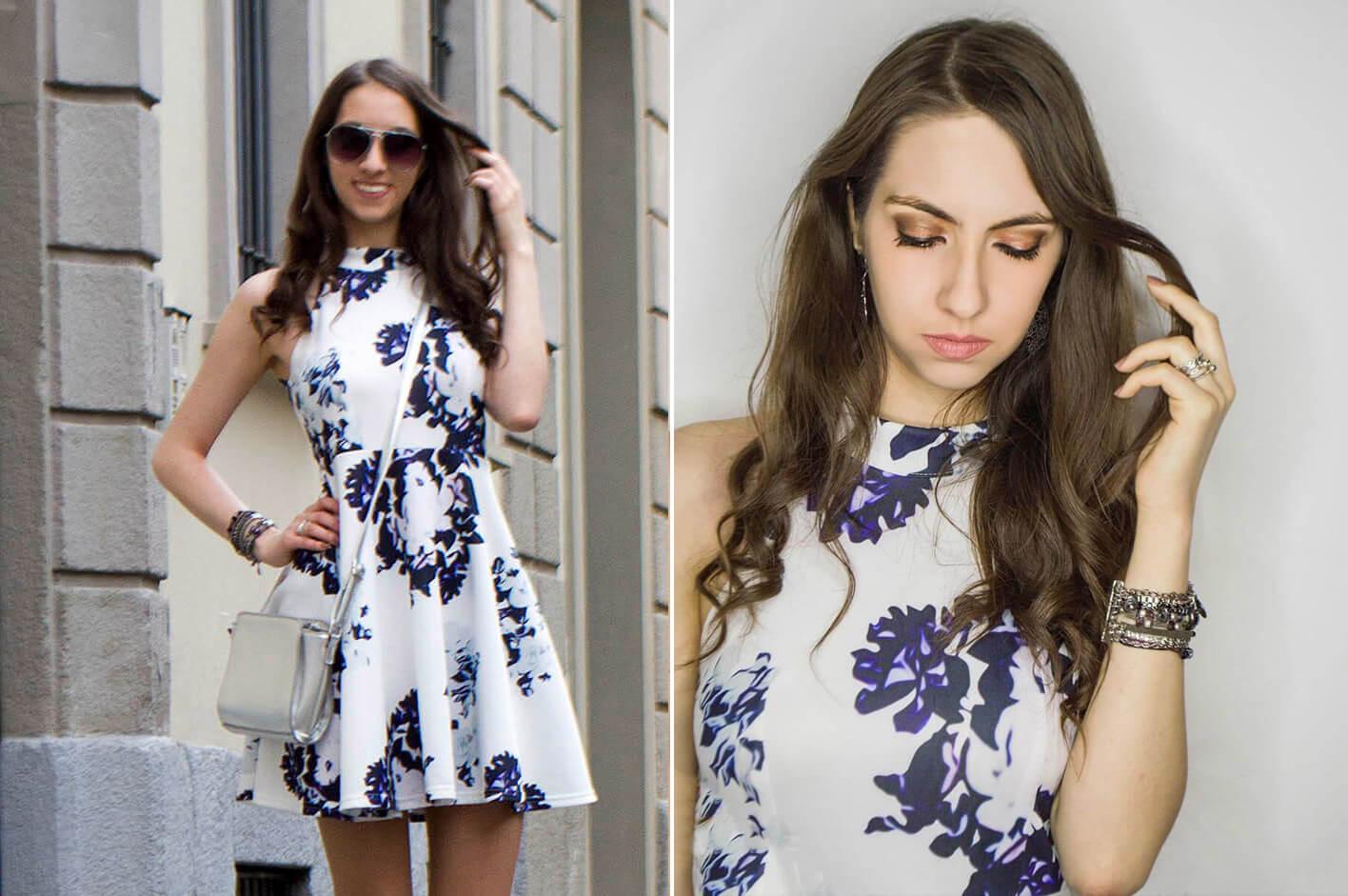 Vestido floral - Manu Luize
