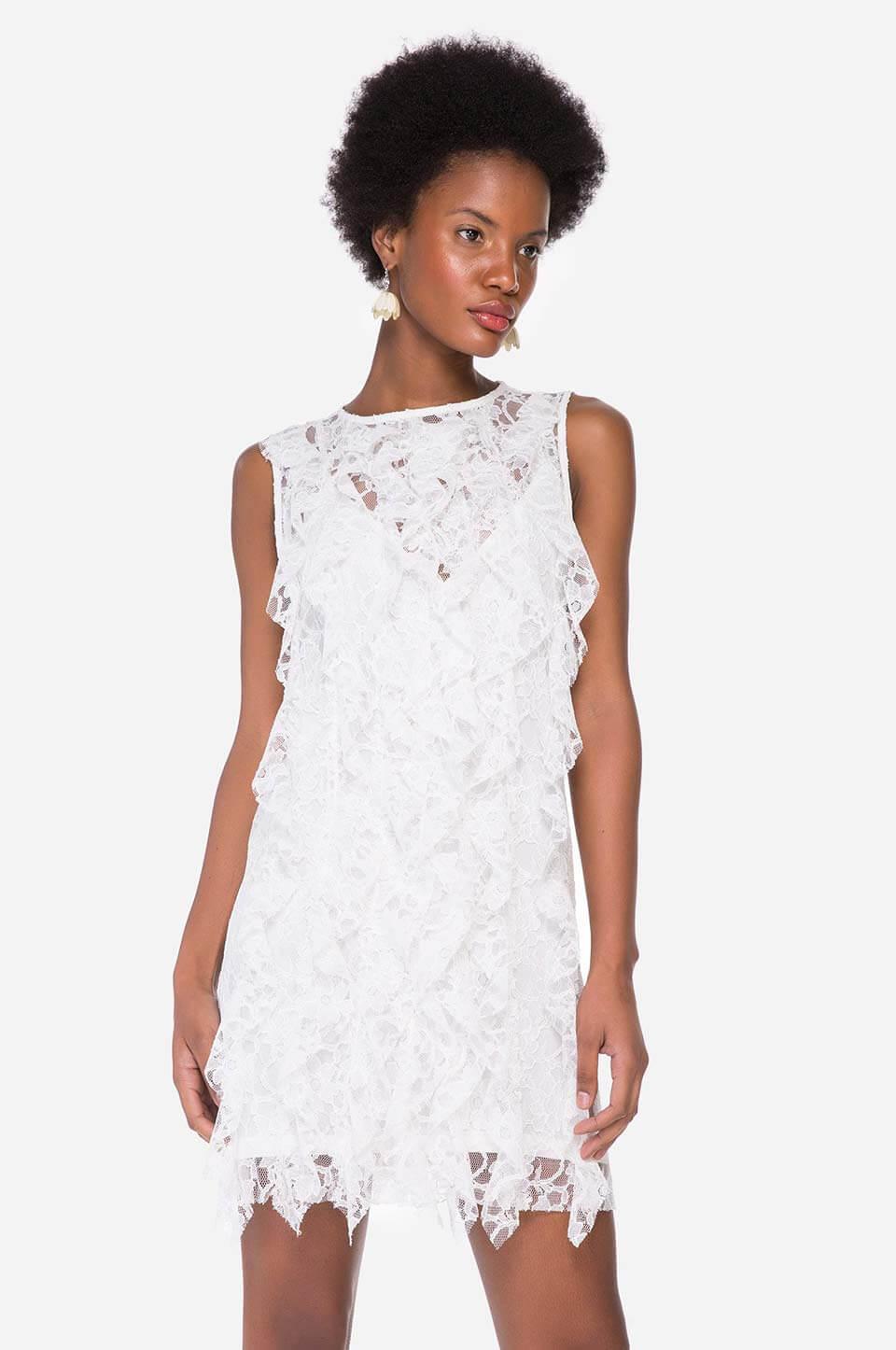 Vestidos brancos de renda