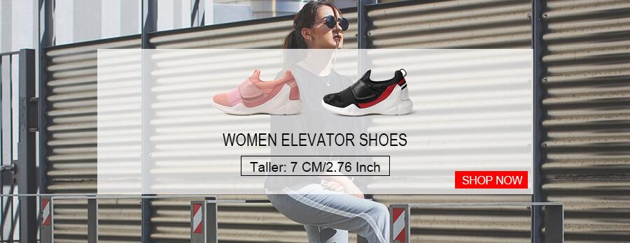 Chamaripa Women elevator shoes
