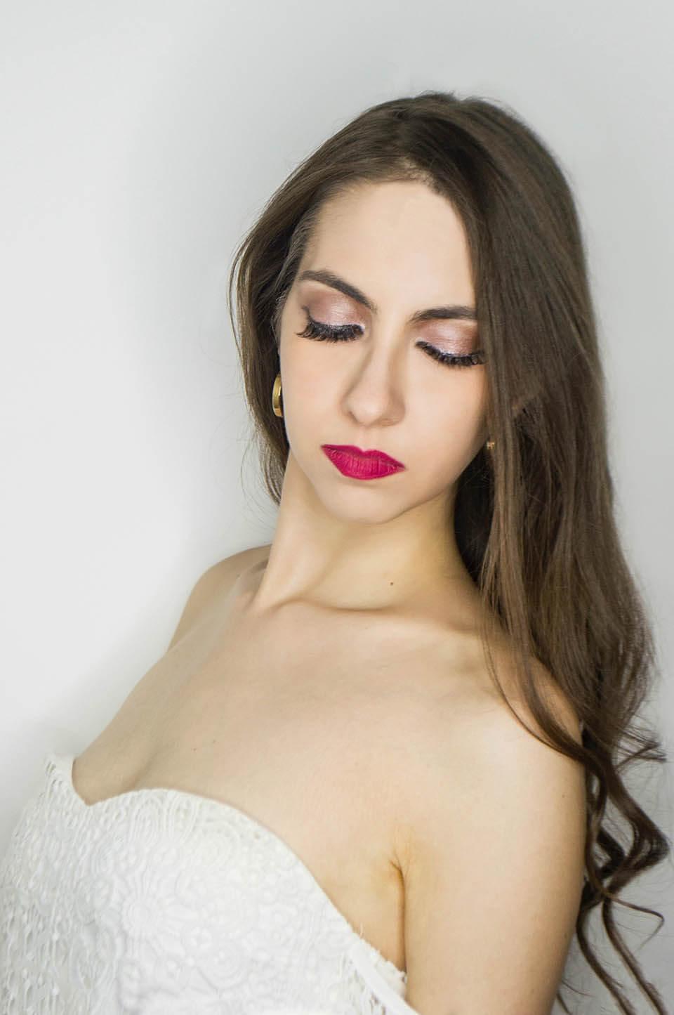 Pink makeup - Manu Luize